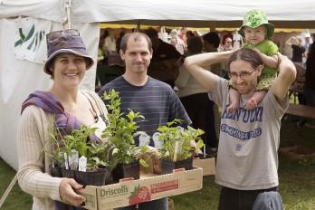Native Plant Sale 2015. Photo: Bill Arthur