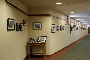 Photography exhibit in the Steinhauer Trust Gallery