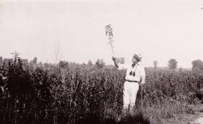 Aldo Leopold at the Arboretum in 1936