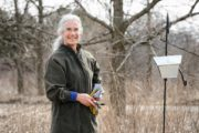 Susan Carpenter, Arboretum native plant gardener, received the Martha Casey Award for Excellence on April 12, 2017
