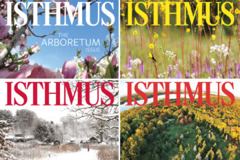 Details of the four Isthmus covers for the Arboretum issue, April 19 to 25, 2018.