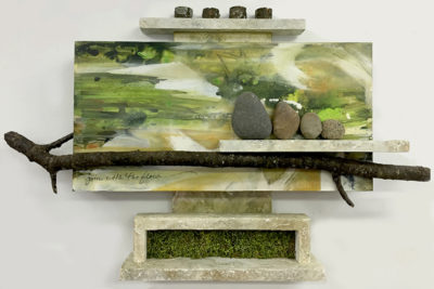 Mixed media sculpture by Cheryl Holz