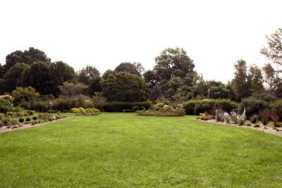 Longenecker Horticultural Gardens event lawn