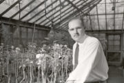John Curtis, shown his lab in 1951.
