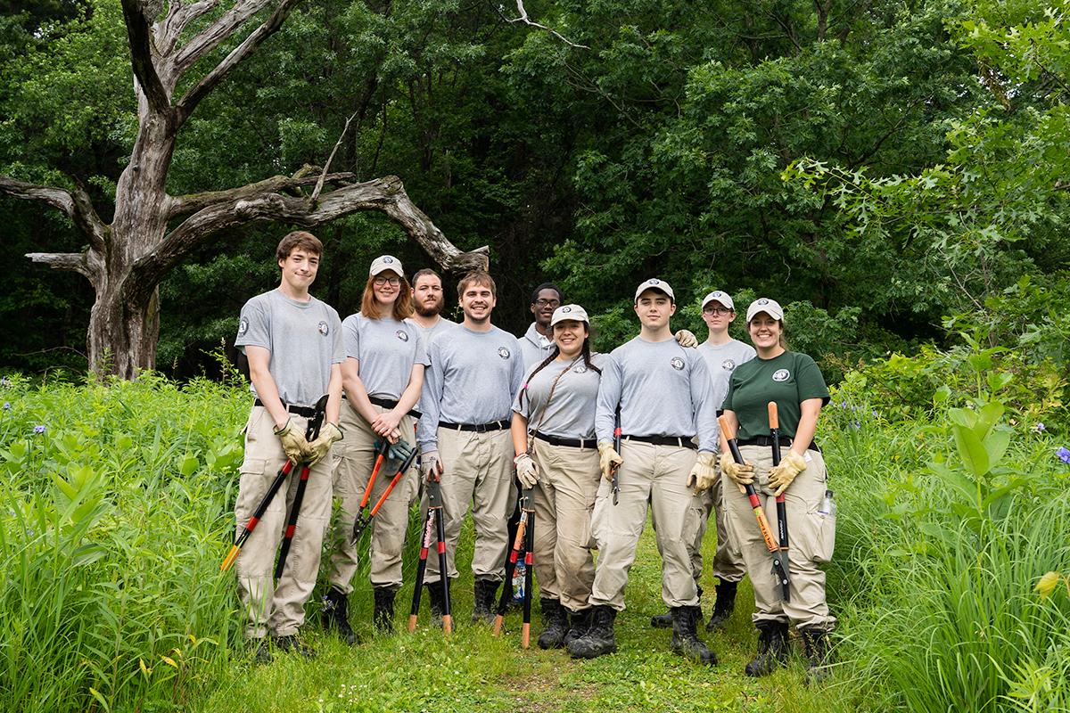 AmeriCorps Cedar 3 team group photo