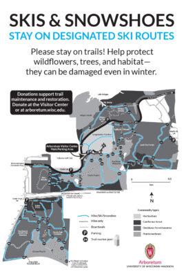map of ski trails winter 2020–2021