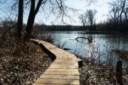 New boardwalk at Ho-Nee-Um Pond