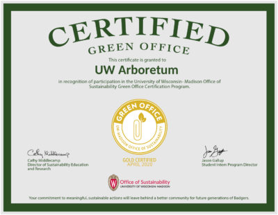 Green Office Gold Certificate