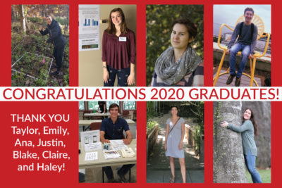 Photo collage of graduating student workers