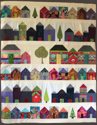 Quilt by volunteer Kate Martin