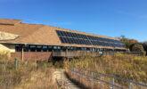 New solar panels at Visitor Center