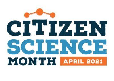 Citizen Science Month 2021 logo