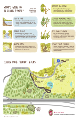 Project highlights and affected areas (Illustrations: Liz Anna Kozik)