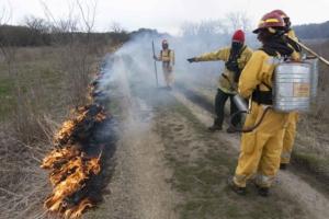 UW–Madison fire ecology class